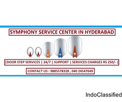 Symphony Service Center in Hyderabad