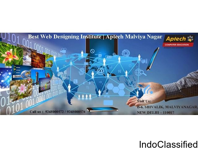 Best Web Designing Institute|Aptech Malviya Nagar in Delhi