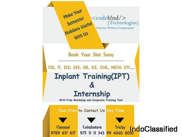 inplant training in coimbatore