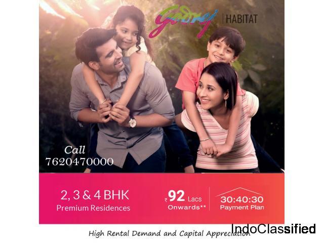 Godrej Habitat Sector 3 Gurgaon 7620470000