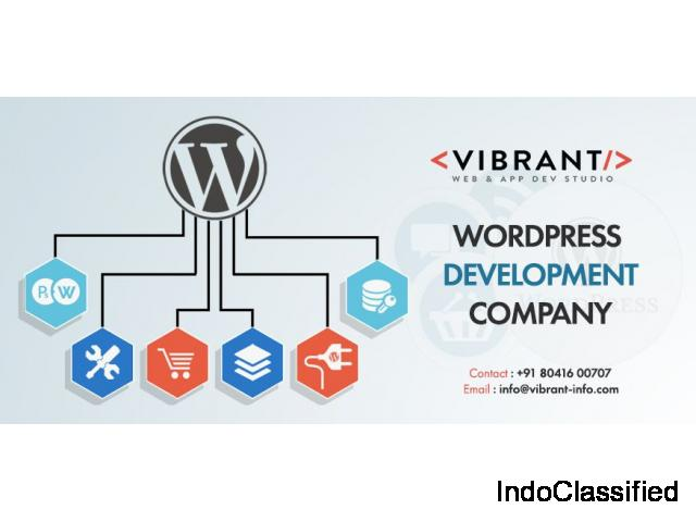 WordPress web development company Bangalore