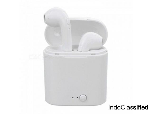 i7s TWS Mini Bluetooth Earphone Wireless Headset with Charging Box Base