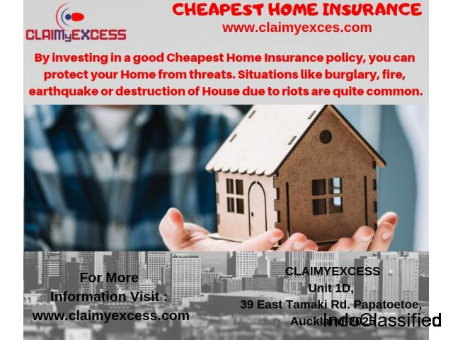Cheapest Home Insurance | Claim your Excess | ClaimyExcess