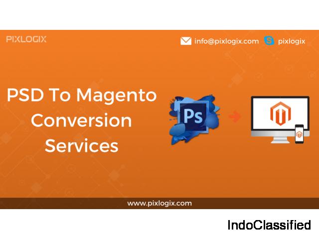 PSD to Magento Theme Customization Services