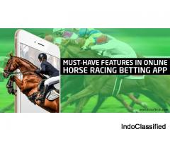 Must-Have Features in Online Horse Racing Betting App