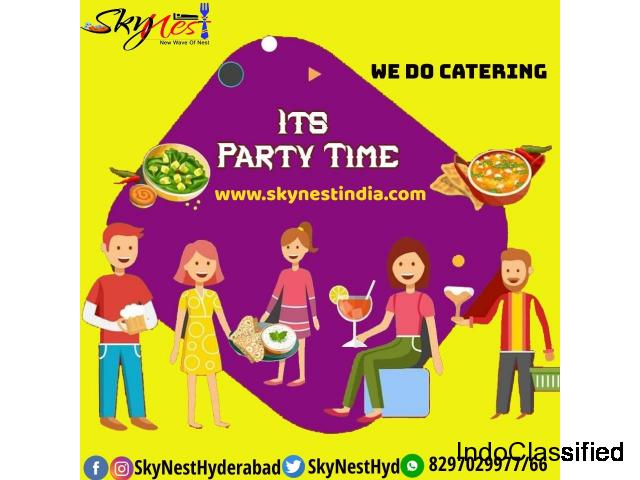 Party Orders In Gachibowli Hyderabad | Skynest Restaurant