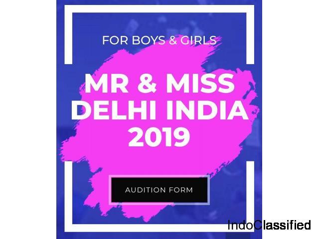 Mr and Miss Delhi Capital 2019