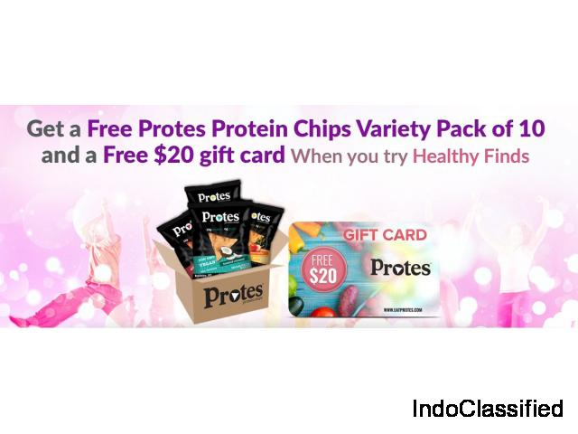 Get FREE $20 Protes Gift Card