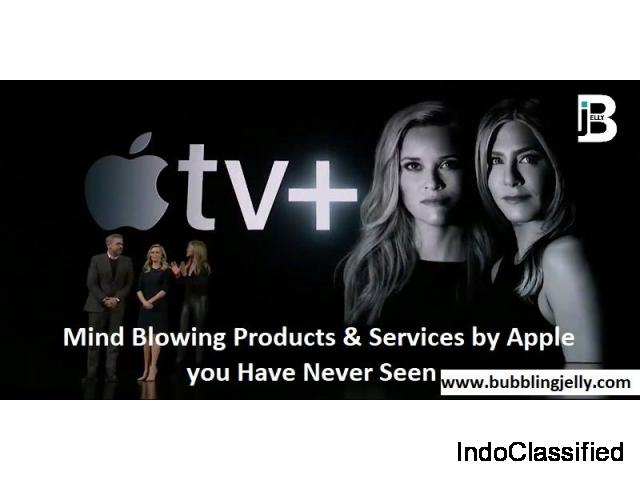 Mind Blowing Products and Services by Apple you have never seen Before