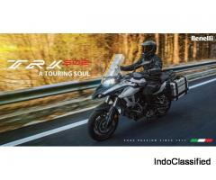 Benelli TRK 502 Adventure Touring Bike Price, Mileage, Images, Reviews