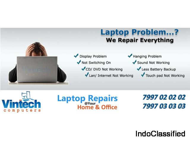 Laptop repair shop near me in Boduppal - 7997020202