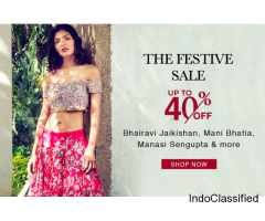 Upto 40% Off on Designer Clothing – Aza Fashions