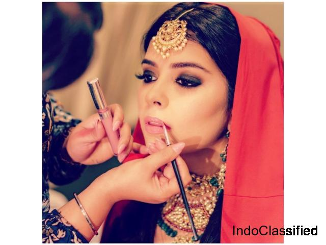BEST BRIDAL MAKEUP SALON IN DELHI