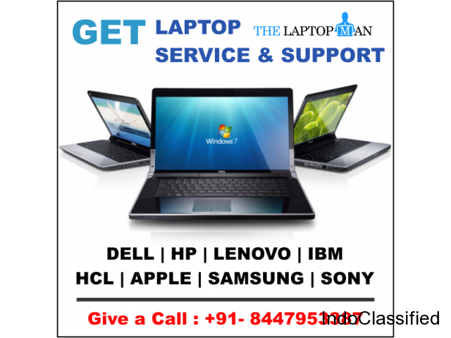 Get The Best laptop repair service center in Vasundhara.