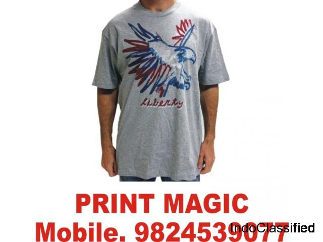 t-shirt printing services in ahmedabad M. 9824539077