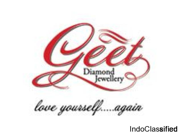 Buy Diamond Earrings Online  | Diamond  Earrings For Women - Geet Jewellery