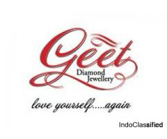 Buy Diamond Earrings Online  | Diamond  Earrings For Women - Geet Jewellery
