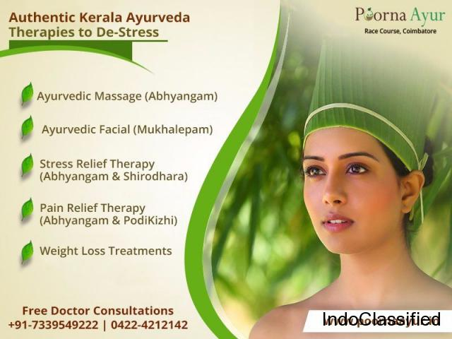 Stress Relief Treatments in Coimbatore