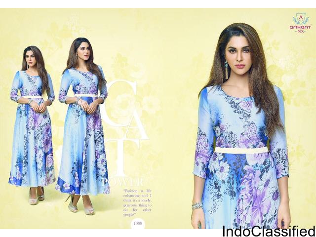 Palchu kurtis collection by arihant designer
