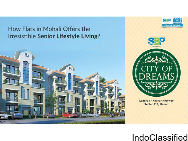 Flats In Mohali Offers Senior Lifestyle Living