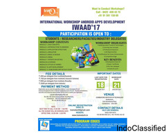International Workshop On Android Application Development in CIT