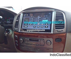 Lexus LX470 car audio radio android wifi GPS camera navigation