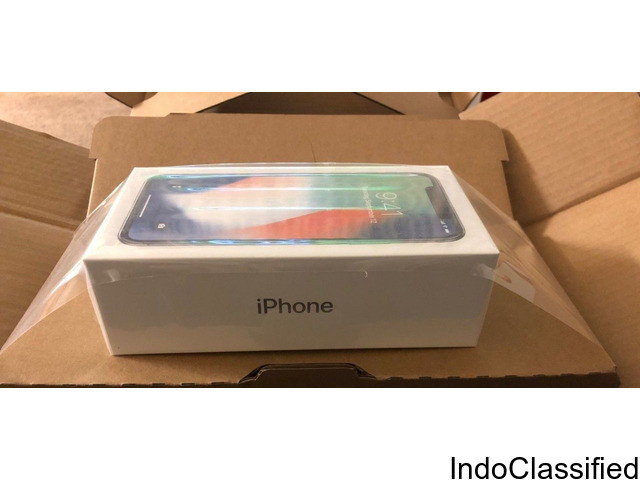 BRAND NEW APPLE IPHONE X 256GB KINDLY ADD ME ON WATSAP FOR MORE DETAILS +12509990417