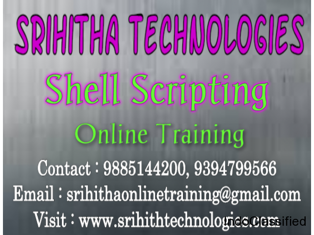 Unix Shell Scripting Online Training