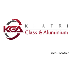 Best quality glass door installation from Khatri Glass and Aluminium