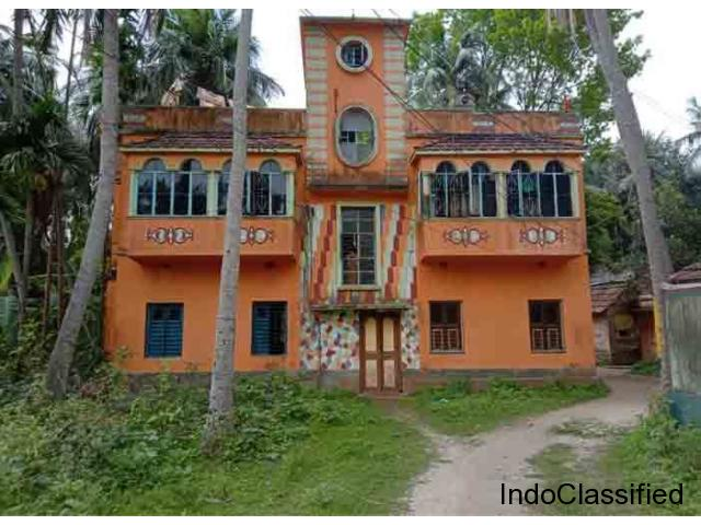 4BHK House With 8 Kottah Land At Deulti Howrah Only 40Lac