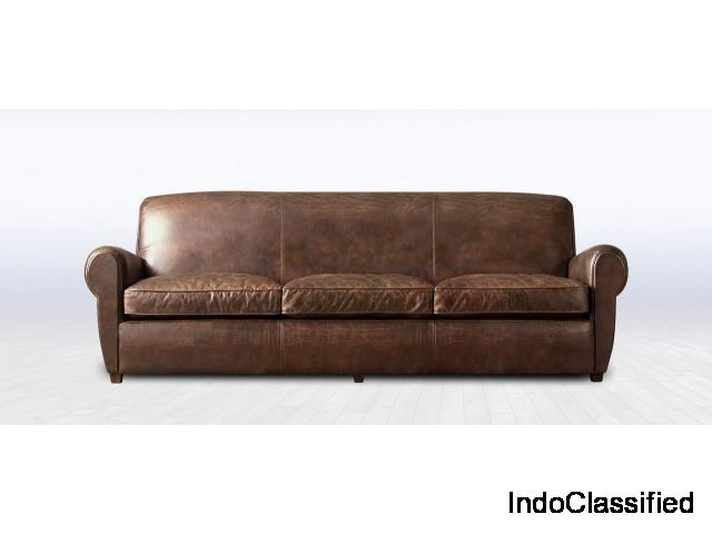 The Secret for Plush Interiors Leather Sofa - OYETURTLE