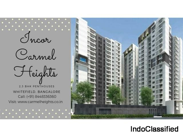Incor Carmel Heights - 2,3 BHK Penthouses for sale in Whitefield, Bangalore