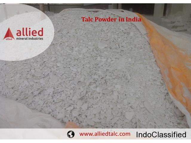 Talc Powder Exporter in India Allied Mineral Industries