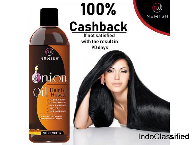 Onion oil hair fall