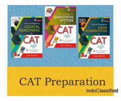 Top Selling CAT Preparation books By Arun Sharma,