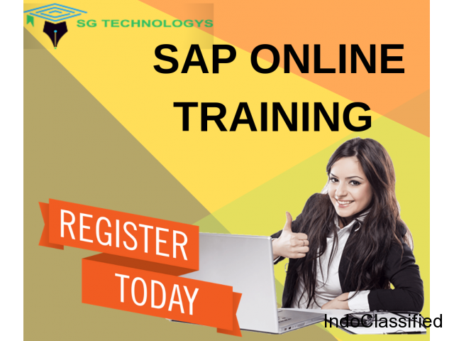 Online SAP Training From Working Consultants | SG Technologys