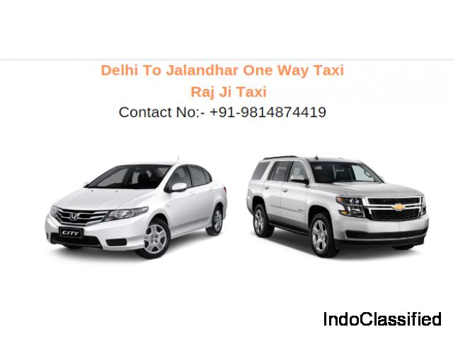 Delhi to Jalandhar One Way Taxi