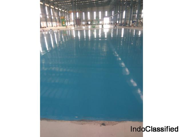 Industrial Epoxy floor coating contractors | Epoxy flooring contractors in India