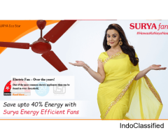Energy Saving Fans, Led Lighting Manufacturers India - Surya Roshni