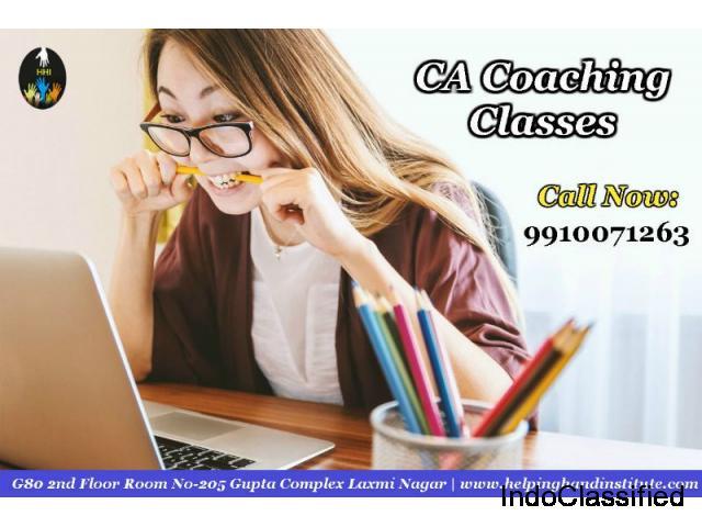 Get CA Coaching Classes - HELPING HAND INSTITUTE