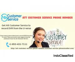 Take Att Customer Service 1-855-431-7111 to manage the U-verse TV DVR shows