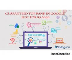 Guaranteed Top Rank In Google just for Rs.5000