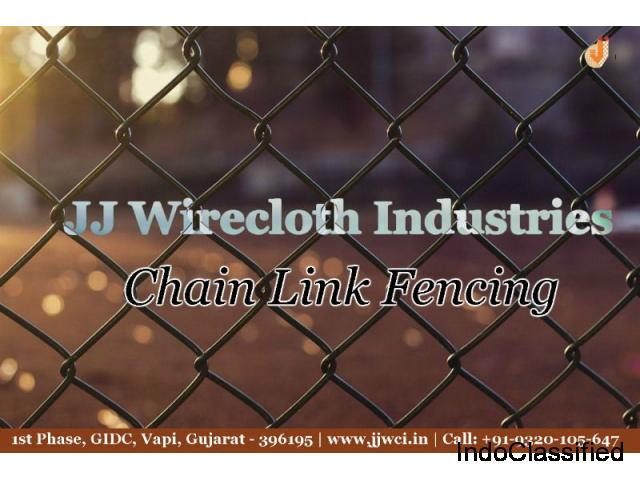 Buy Chain Link Fencing - JJ WIRECLOTH INDUSTRIES