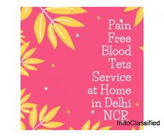 Blood Test Service at Home in Delhi NCR