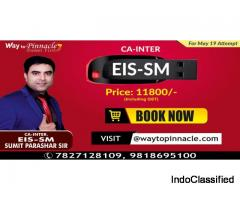 CA Inter EIS SM Pendrive Classes by Sumit Parashar Sir | Way to Pinnacle