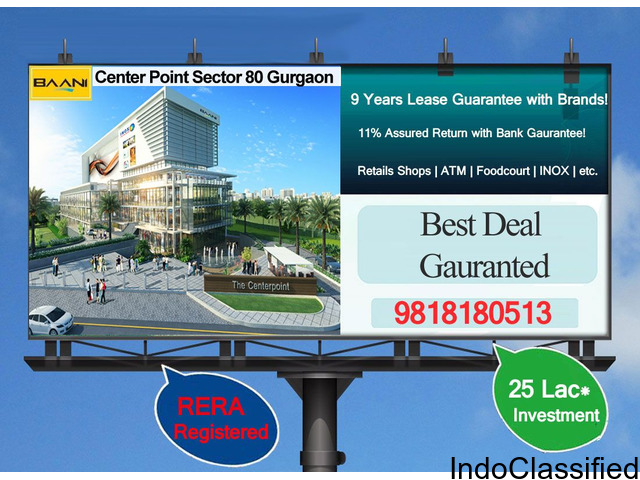 Banni Center Point Sector 80 in Gurgaon, Haryana
