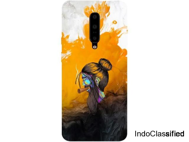Buy Printed Back Cover for OnePlus 7