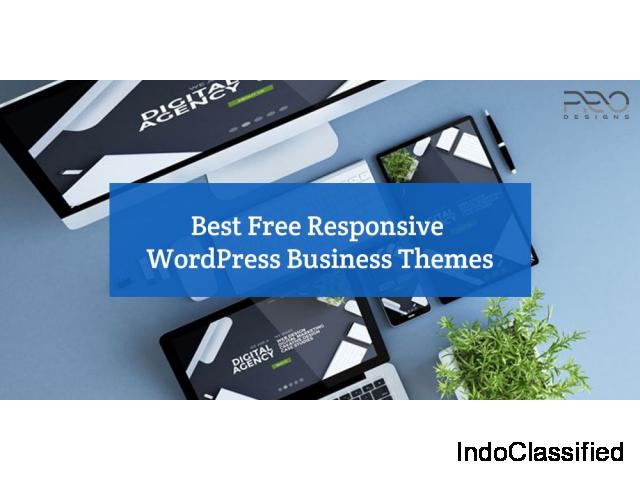 15+ Best Free Responsive WordPress Business Themes