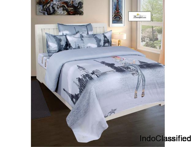 Make Your Room Blaze in Classiness with Comfortable Bedsheets