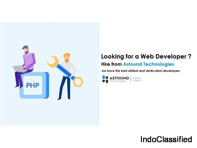 Hire web developer in India
